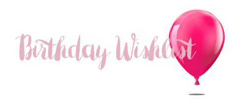 Wishlist 29ste verjaardag
