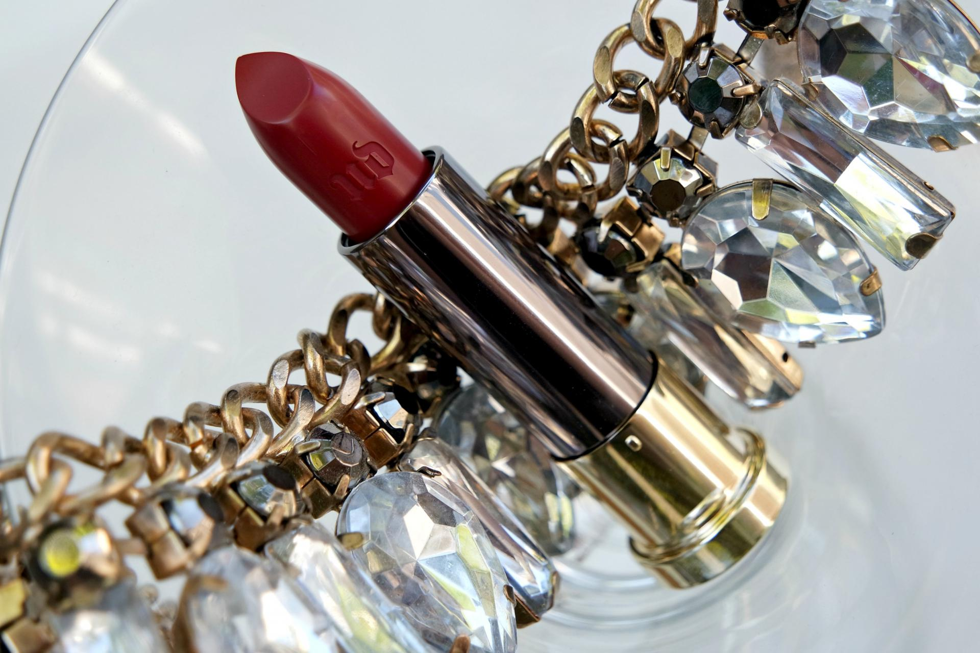 Urban Decay Vice Rock Steady Cream Lipstick Review My