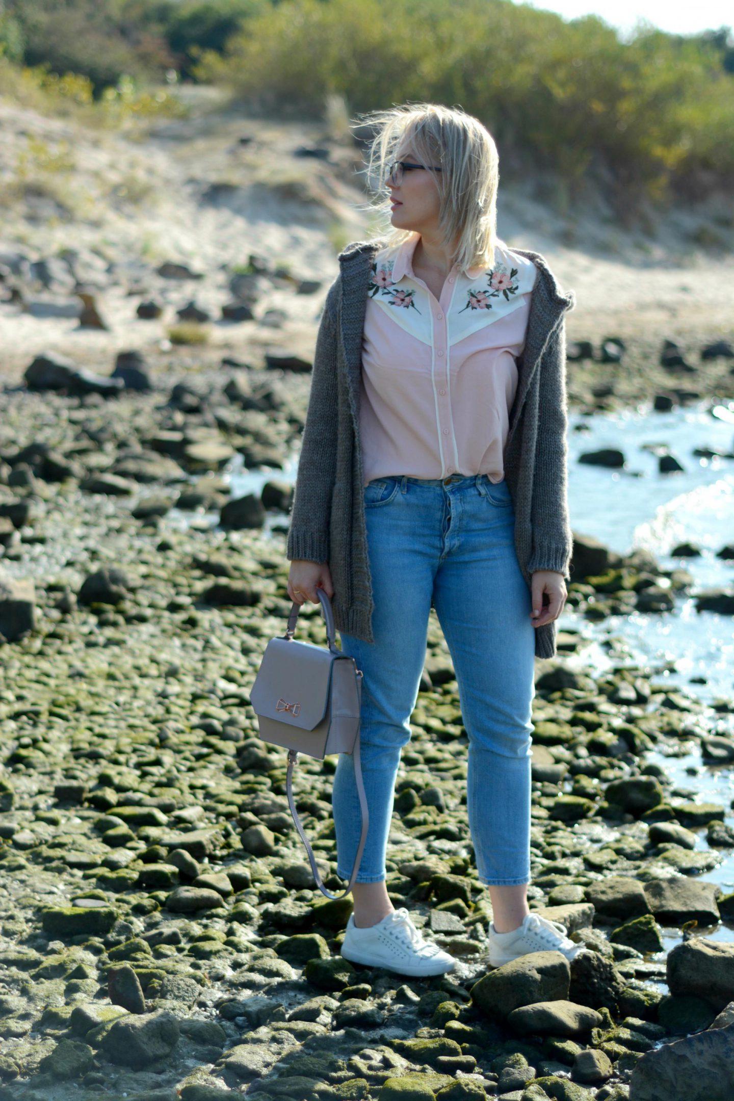 outfit  mijn nieuwe statement bag ted baker bow purple van duifhuizen tassen en koffers
