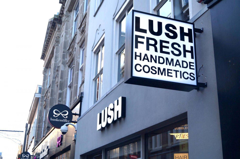 Lush Den Haag opening 25 november