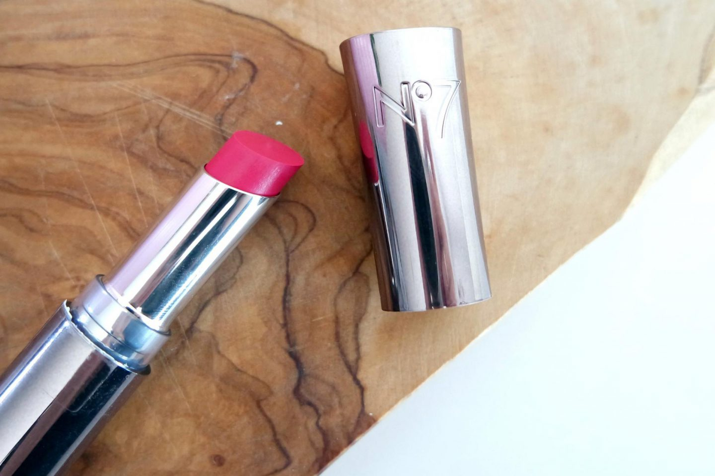 no7 stay perfect lipstick raspberry