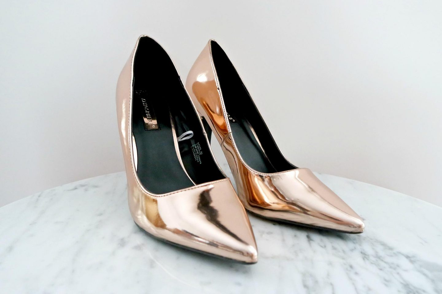 primark shoplog november rose gouden pumps