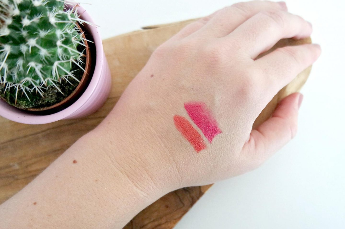 no7 de match made lipsticks swatch