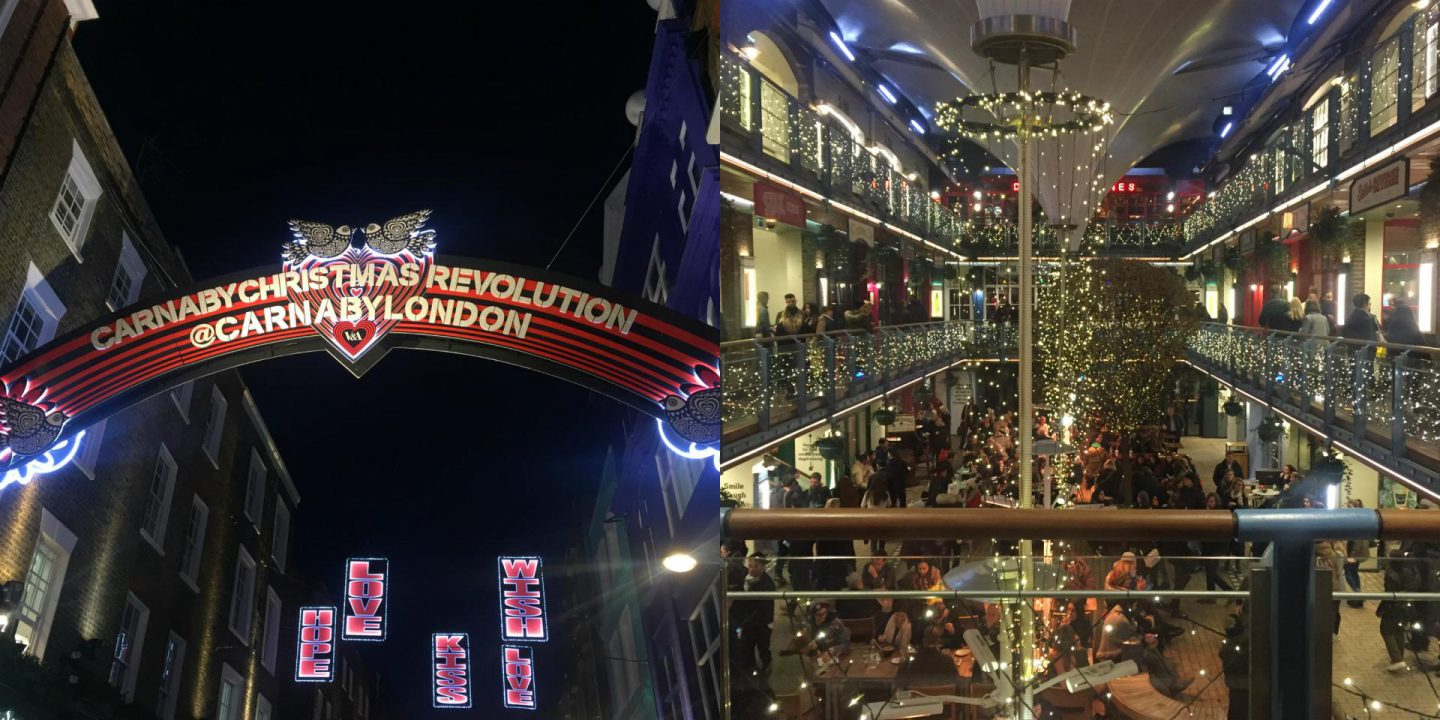 Carnaby street / kingly court