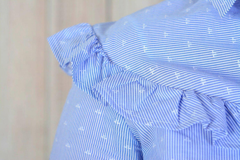 Fotoshoot Dees Javu Fotografie Outfit blouse met rouches