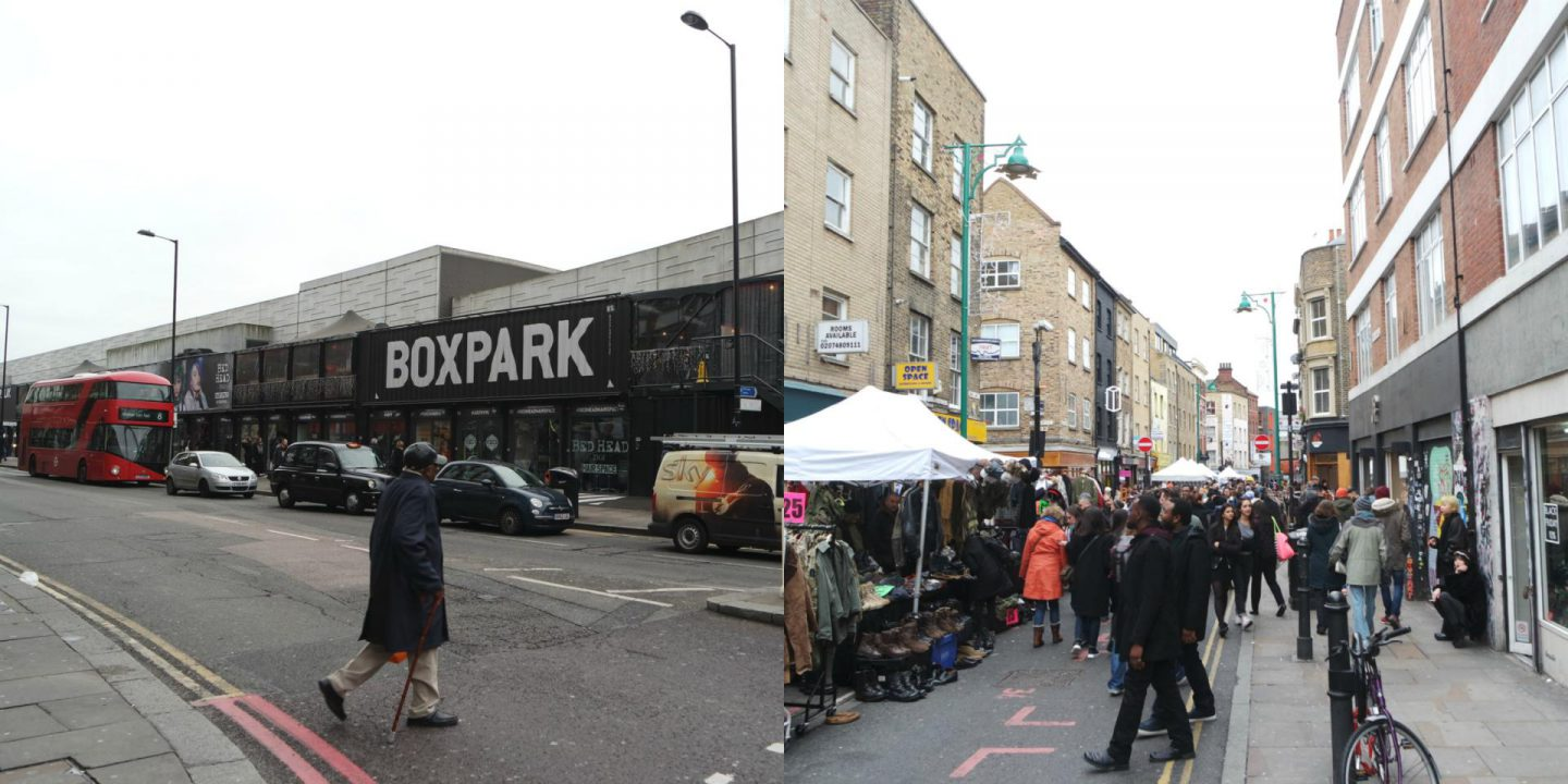 boxpark / shorditch
