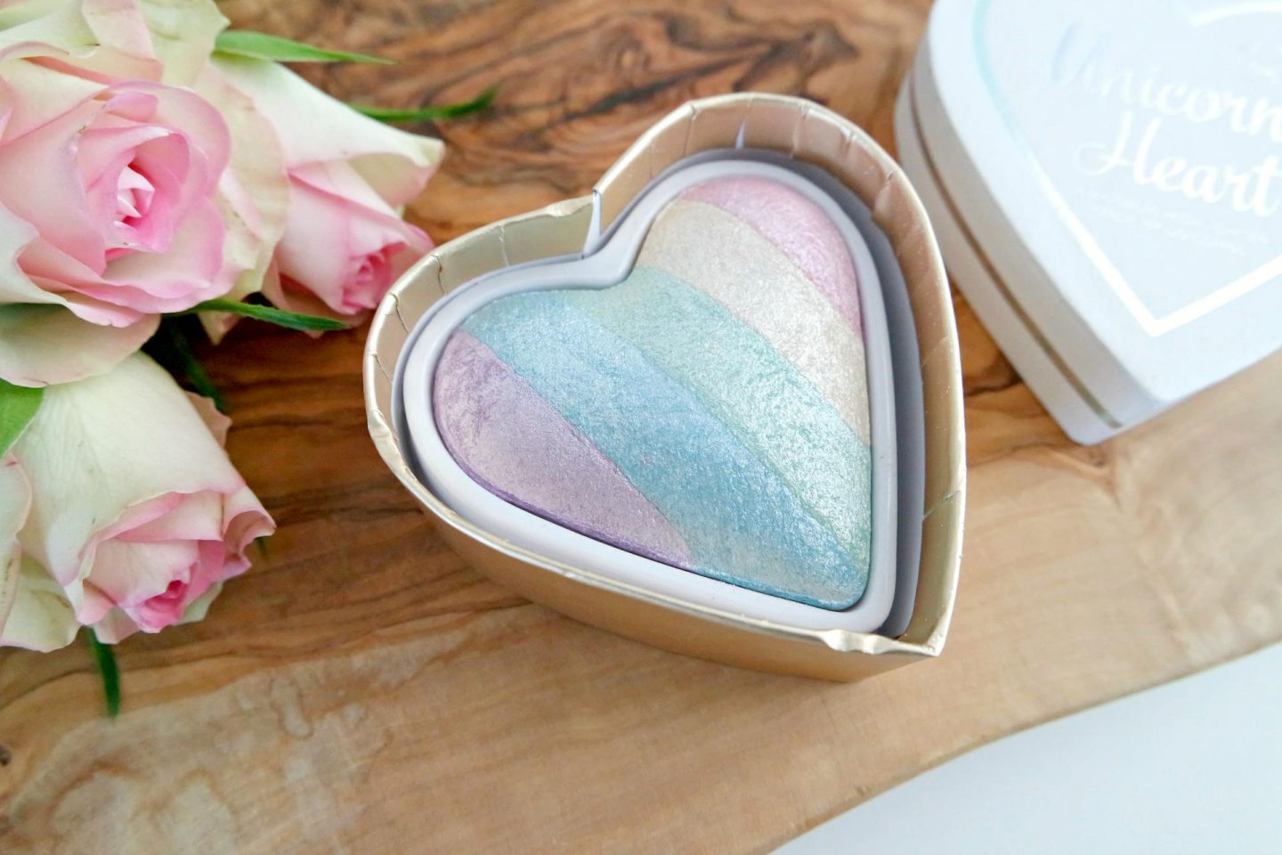 unicorn highlighter van I heart makeup