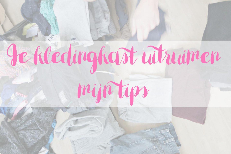 Je kledingkast uitruimen: mijn tips