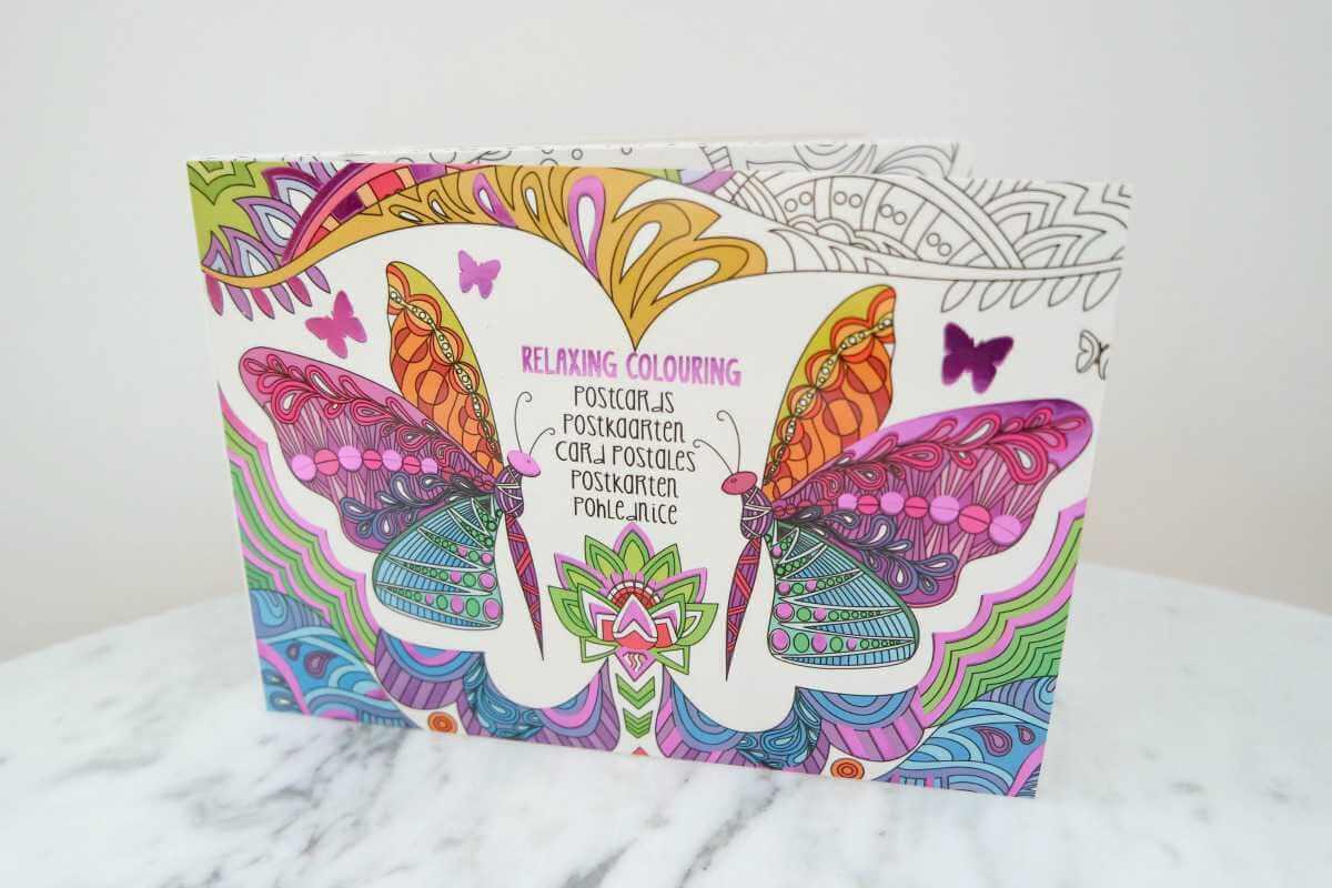 Action Shoplog kleurkaarten