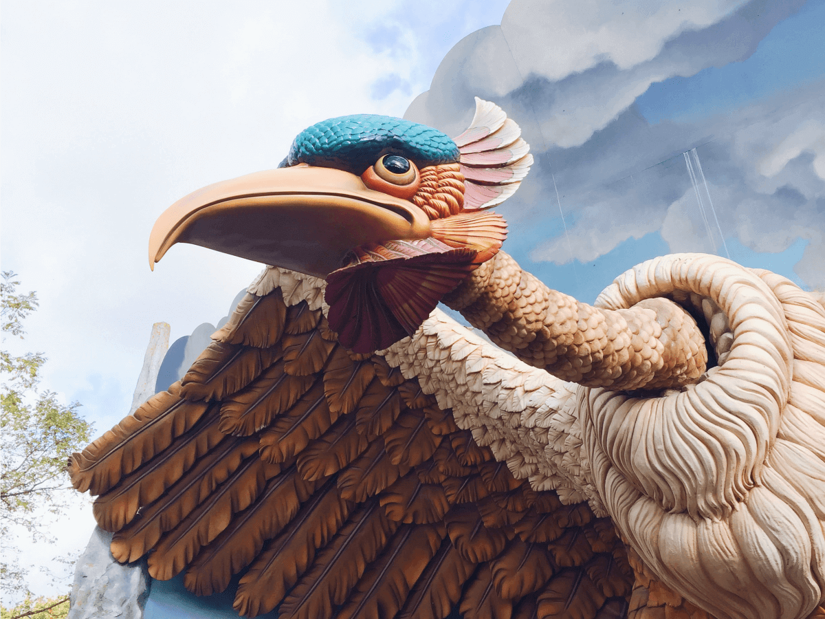 Efteling vogel rok