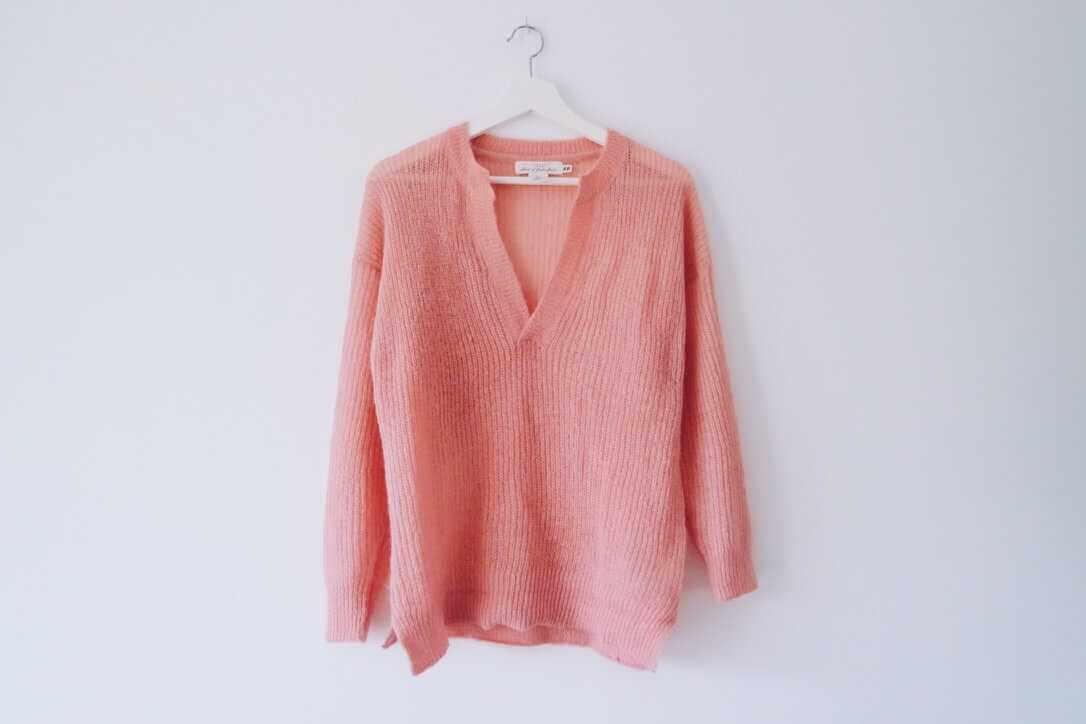 Roze trui H&M