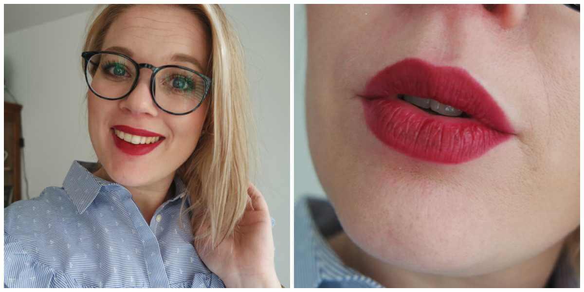 The Body Shop Matte Lipstick Osaka Plum