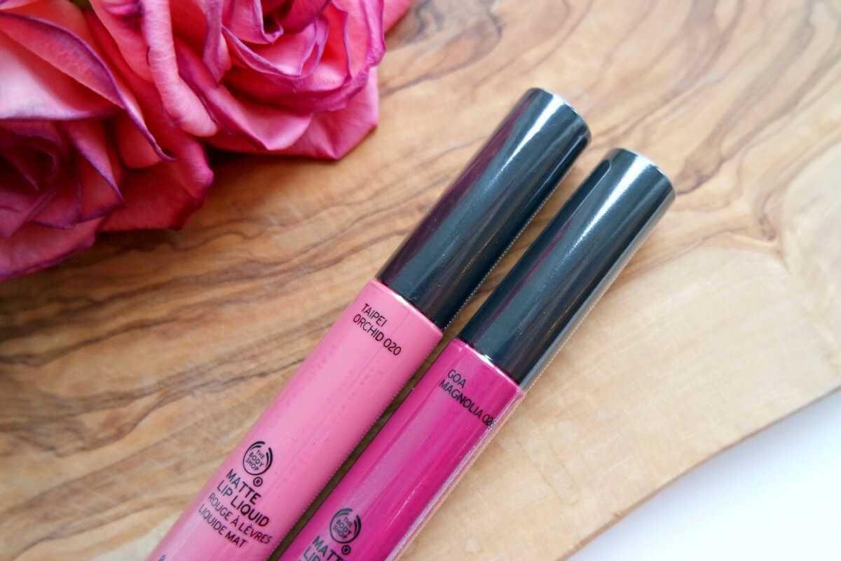 The Body Shop lip liquid