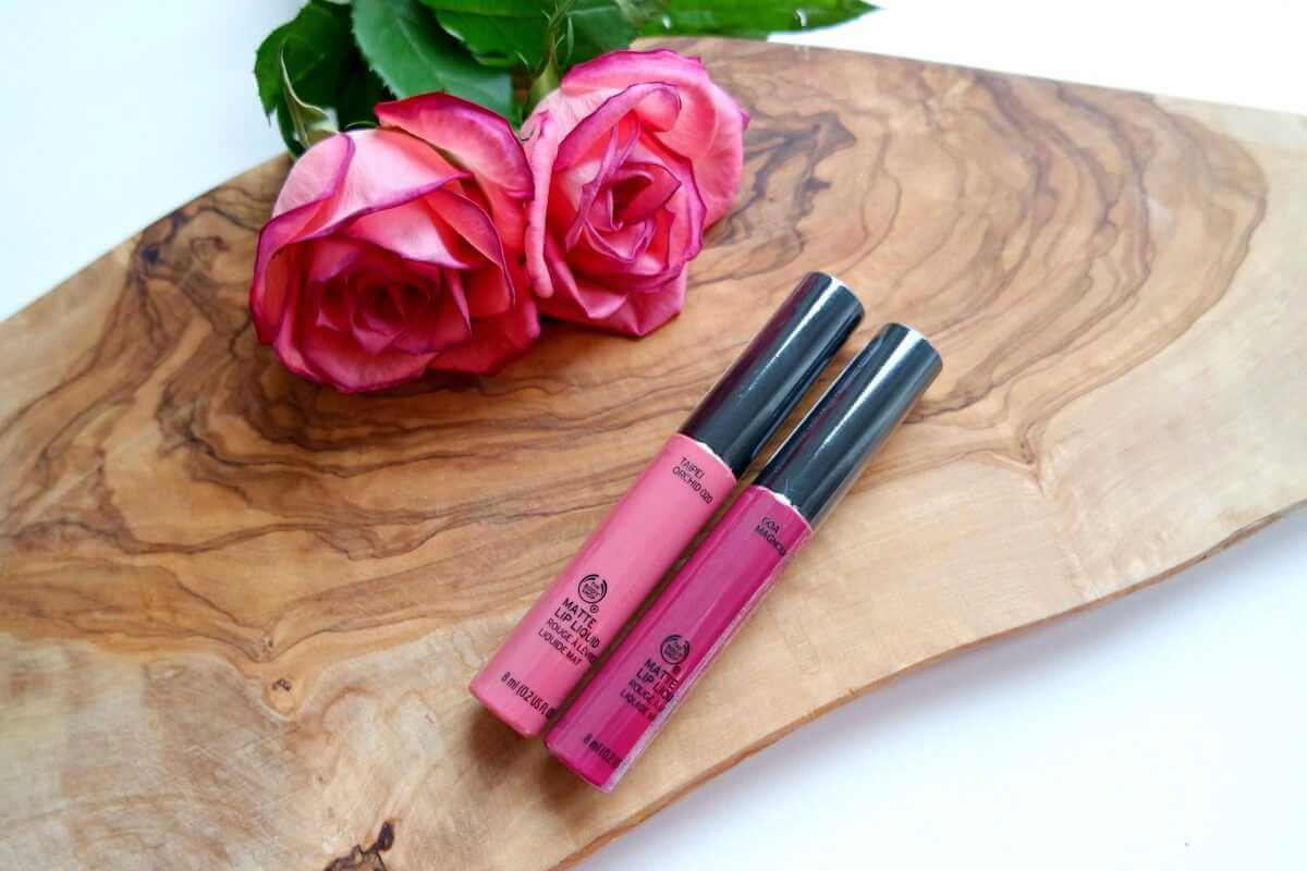 The Body Shop lip liquids
