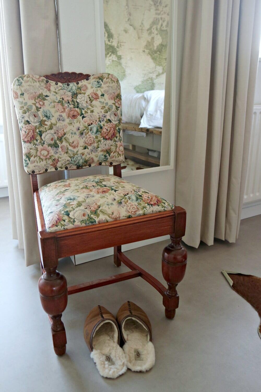 Slaapkamer stoel van oma