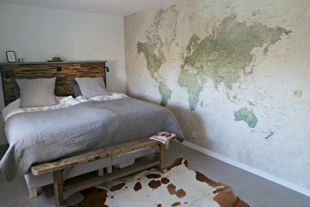 Behang Paars Slaapkamer : Een kijkje in onze slaapkamer my little happiness