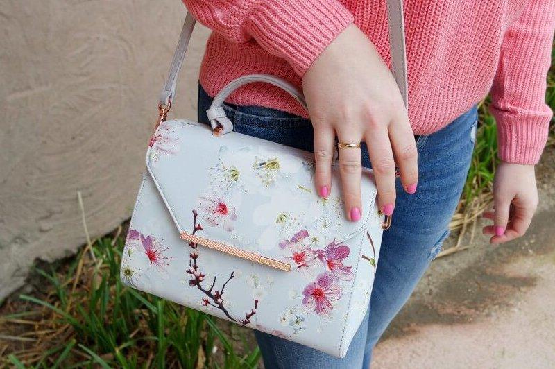 Outfit | National Glamour Day koopjes | Roze trui, Ted Baker en 7/8 broek