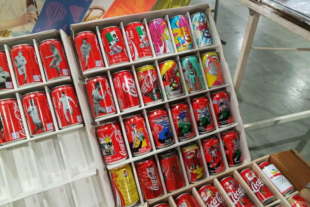 coca cola Verzamelaarsjaarbeurs 2017