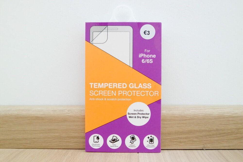 Primark shoplog mei - schreenprotector