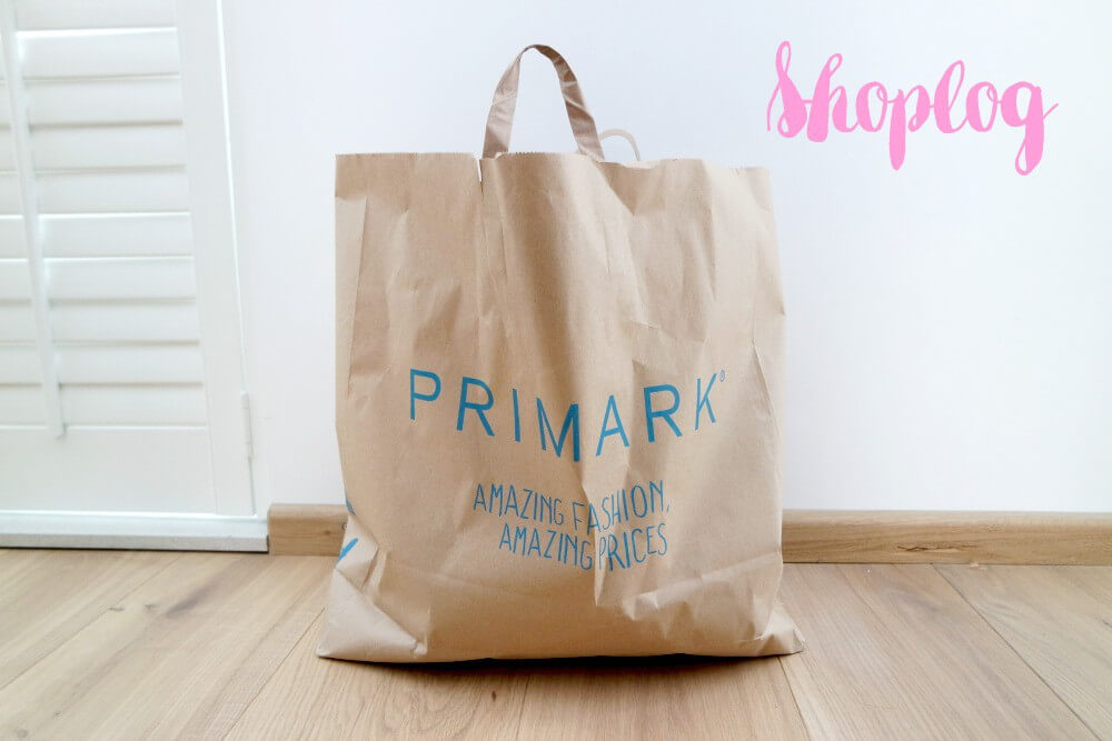 Primark shoplog mei