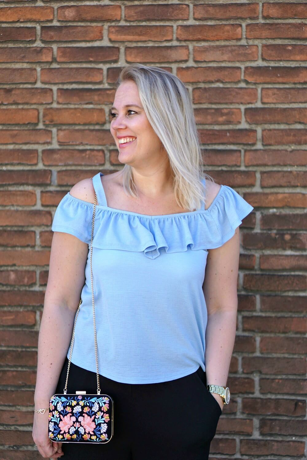 Outfit | Off shouldertop Primark