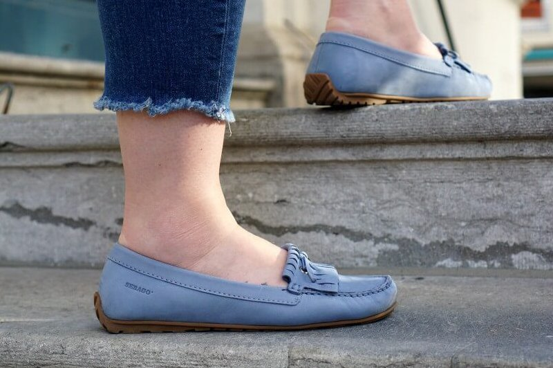 Outfit | Blue Loafers