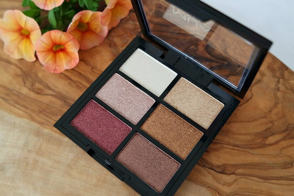 MUA Rusted Wonders 6 Shades Eyeshadow Palette