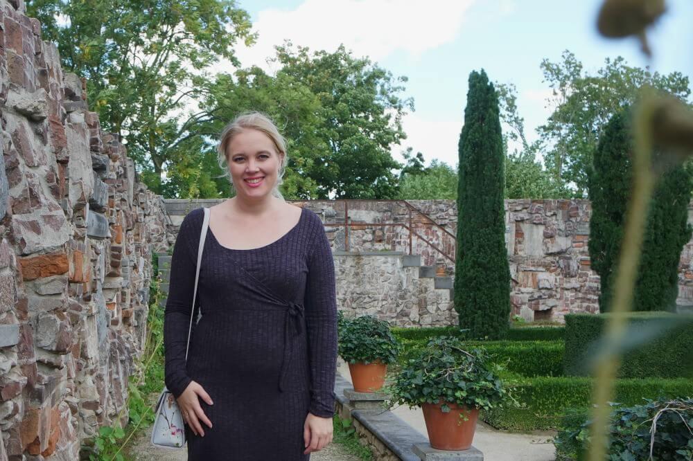 Noppies Jurk Giulia 14 weken zwanger