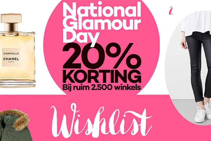 National Glamour Day 30 september 2017! Mijn wishlist en een lijst met alle online kortingscodes