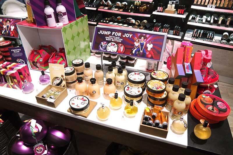 The Body Shop Kerstcollectie 2017 - spelen voor vrede