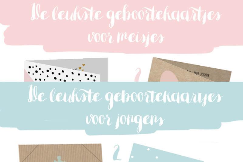 Inspiratie | De leukste geboortekaartjes voor meisjes & jongens