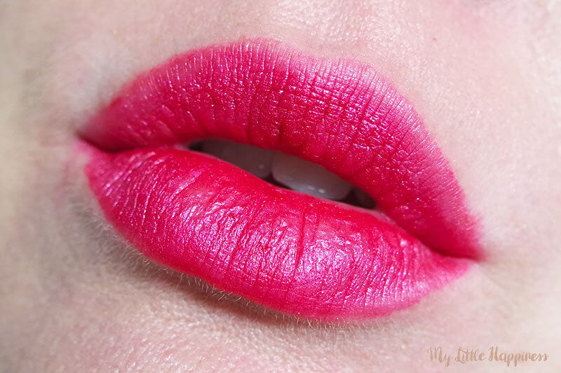 Metal Lip Liquid swatch - The Body Shop