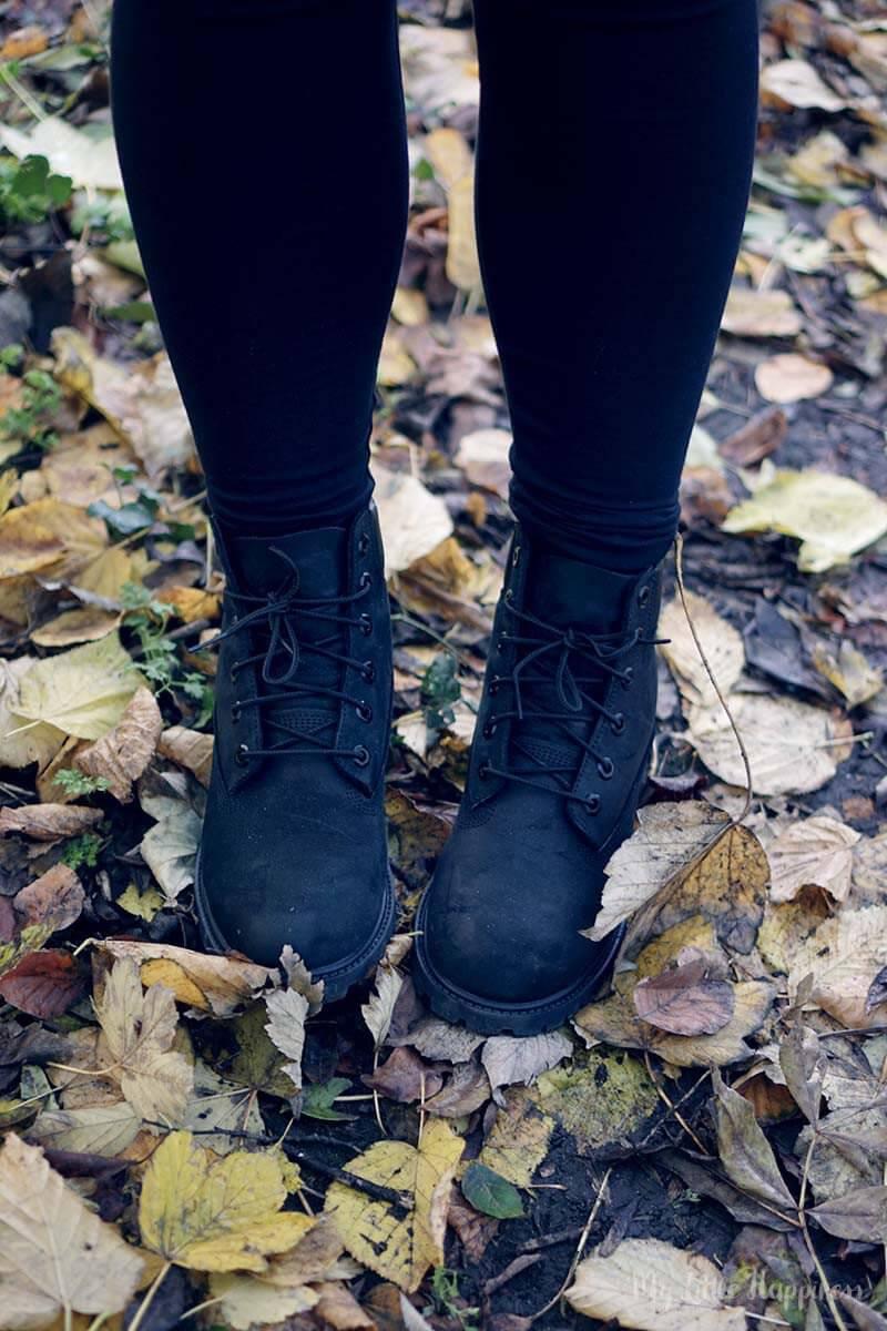 Timberlands 6 Premium Nubuck Black