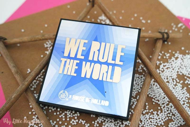 We Rule the world palette - The Body Shop