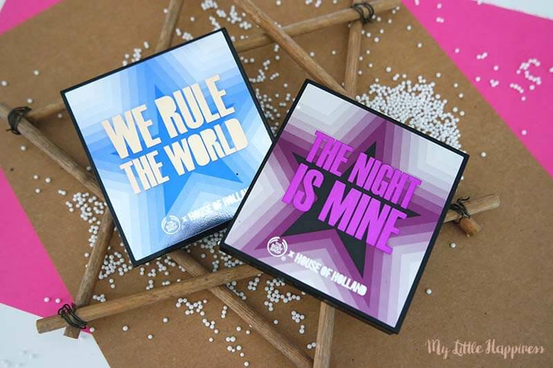 We Rule the world palette & The Night is mine palette - The Body Shop