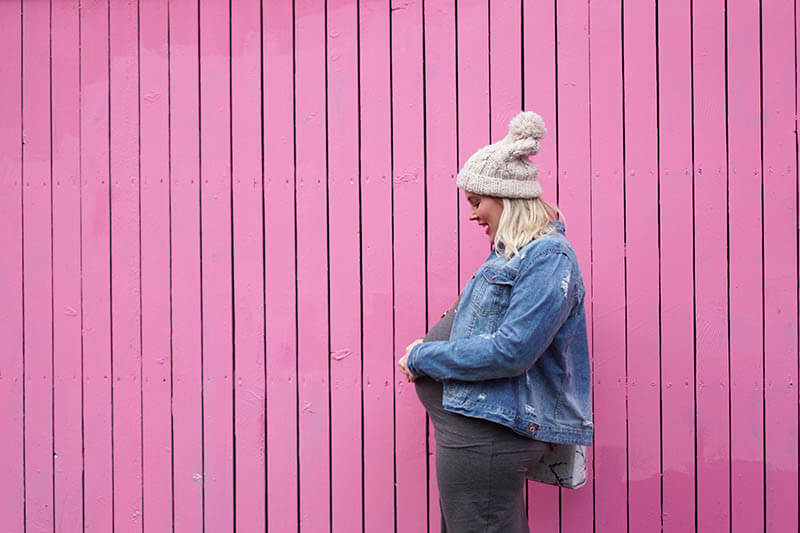 Outfit | De Pink Wall in Rotterdam