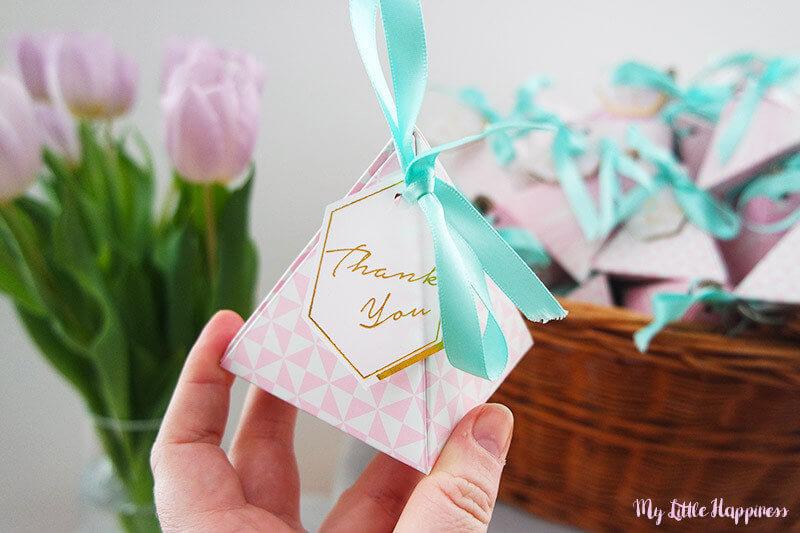 Voordelige geboorte bedankjes maken