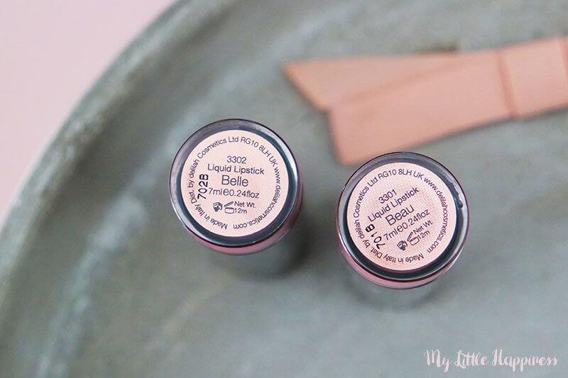 Delilah Liquid Lipstick Belle & Beau