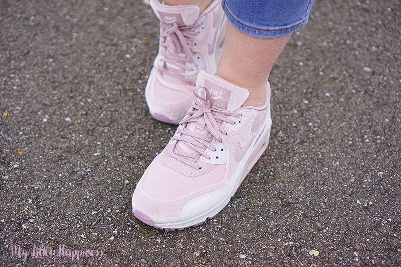 Nike Women Air Max 90 LX Particle Rose Vast Grey