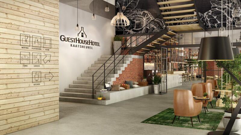 Nieuw: GuestHouse Hotel Kaatsheuvel