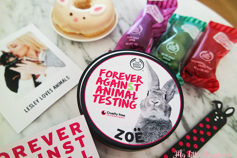 Bodyshop Forever Against Animal Testing