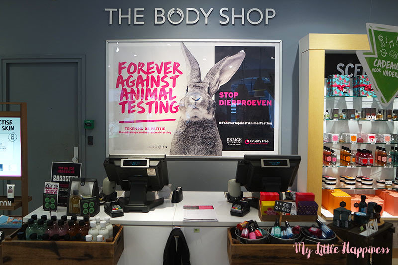 Body Shop Forever Against animal testing