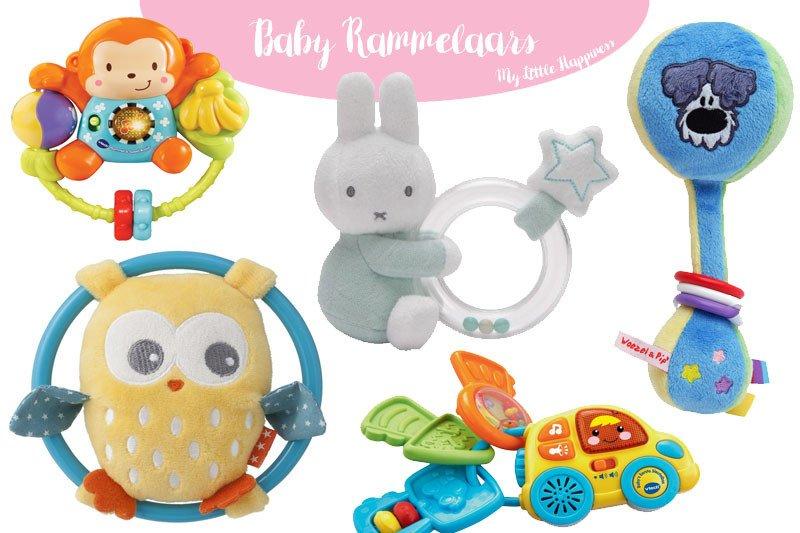 Speelgoed voor baby's | rammelaars