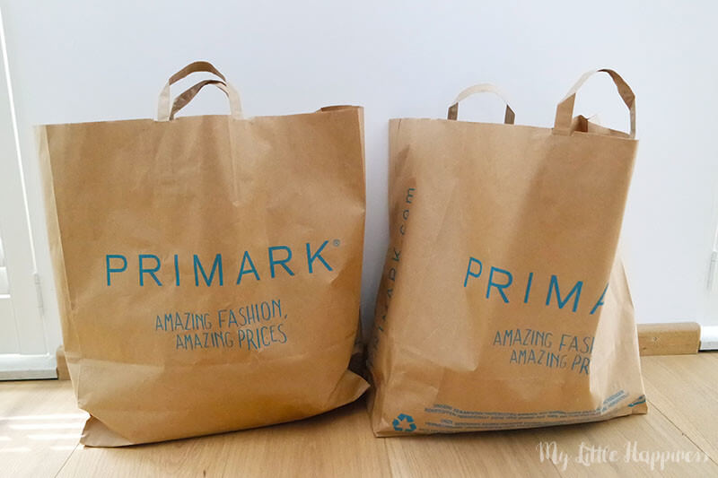 Primark Shoplog september