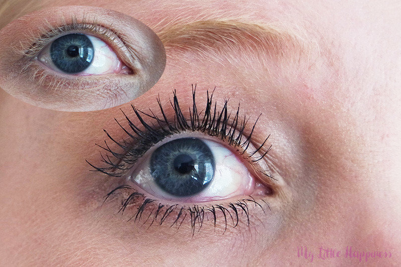 Essence I need a Miracle mascara voor-na