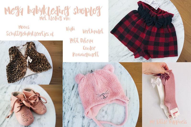 Vakantie shoplog Babykleding Mimi | Petit Bateau, Kringloop, Kiabi, Schattige Babykleertjes.nl en meer
