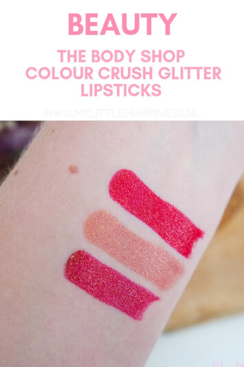 The Body Shop | Colour Crush glitter lipsticks