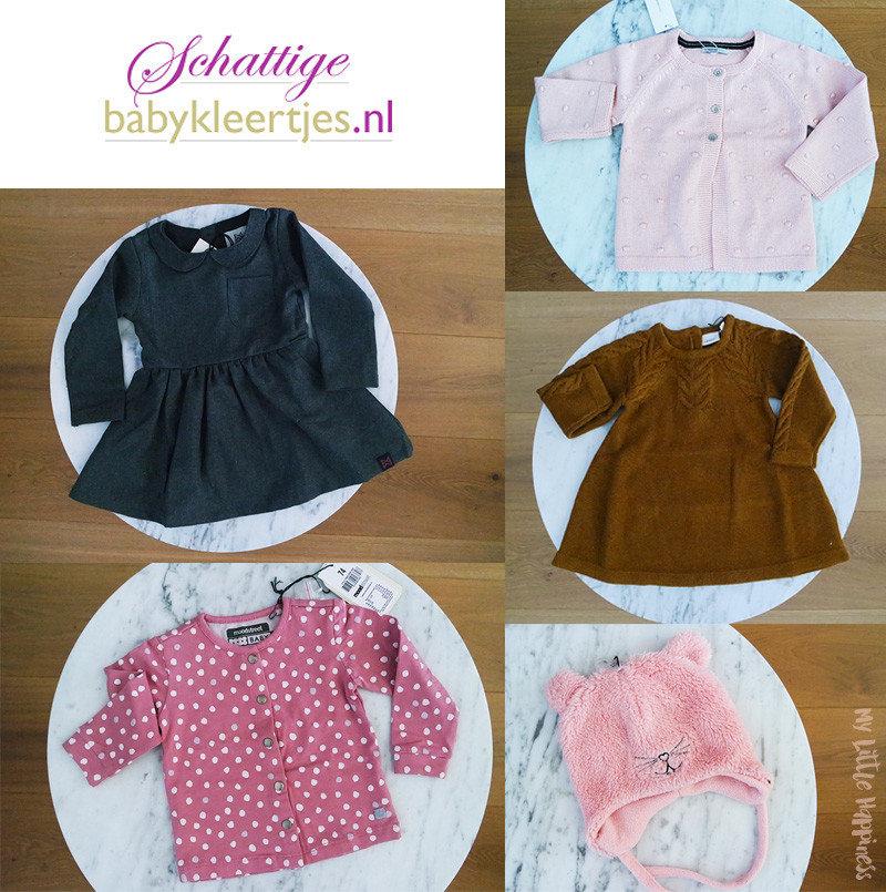 Shoplog Schattige babykleertjes