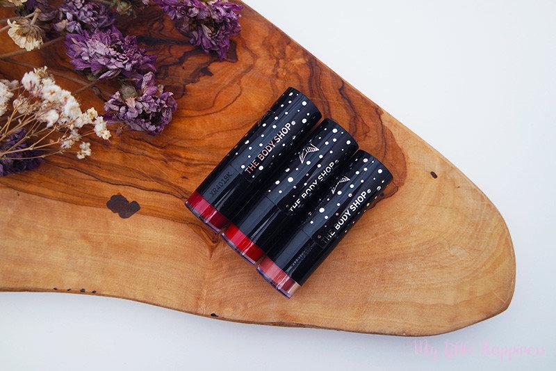 The Body Shop | Colour Crush glitter lipsticks