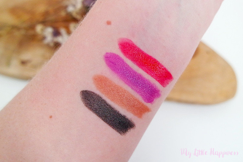 The Body Shop Colour Crush Lipstick swatch